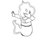 Dibujo de Skylanders Imaginators dibujado por Rossy para colorear