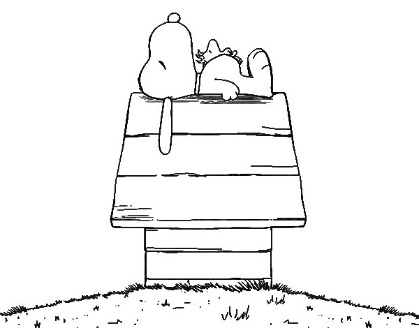 Desenho Do Snoopy Para Colorir: Dibujos De Snoopy Para Imprimir Y Colorear Gratis Dibujo