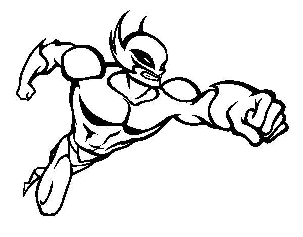 Dibujos Los Super Heroes