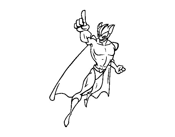 Superheroes Coloring Pages  Free Fun for Kids!