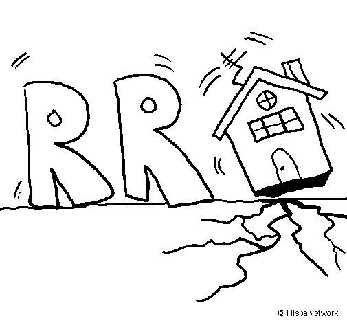 dibujos para dibujar de terremotos