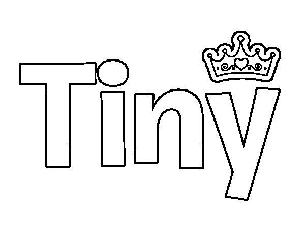 Dibujo de Tiny para Colorear