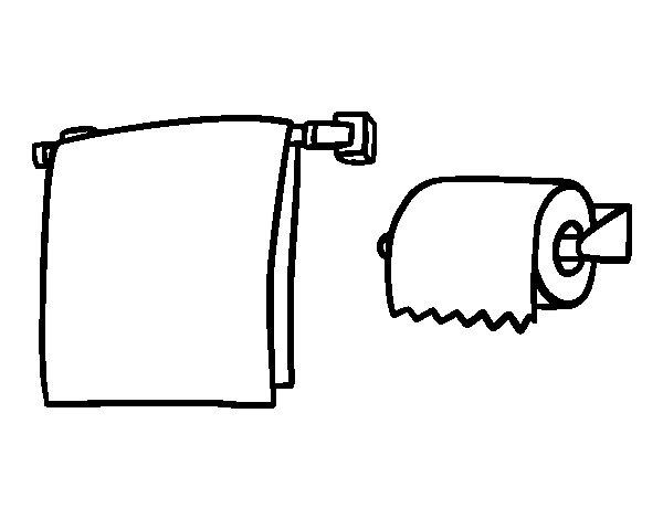 Imagenes De Baño Para Dibujar:Toilet Paper Coloring Pages
