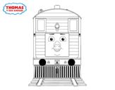 Dibujo de Toby de Thomas y sus amigos para colorear