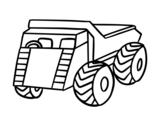 Dibujo de Un camión de carga