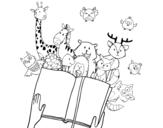 Dibujo de Un cuento de animales