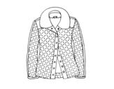 Dibujo de Una chaqueta para colorear