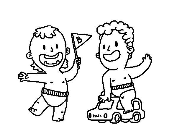 Dibujos Para Colorear De Niños Jugando Futbol Dibujos Sin Colorear
