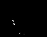 Dibujo de Velociraptor bebé