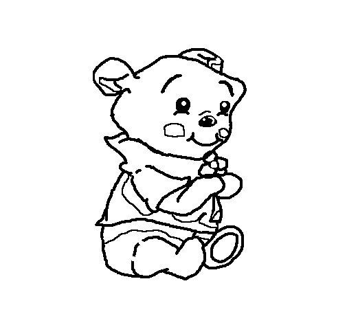 Dibujo de Winnie para Colorear