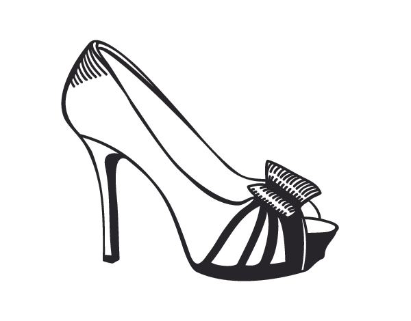 zapatos mujer dibujo