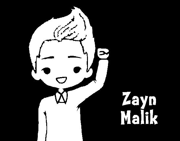 Dibujo de Zayn Malik para Colorear - Dibujos.net