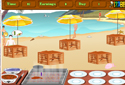 Cocinero de playa