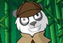 Oso panda en la jungla