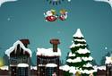Santa Claus reparte