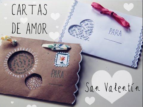 V deo de cartas y tarjetas para san valent n - Cartas de san valentin en ingles ...