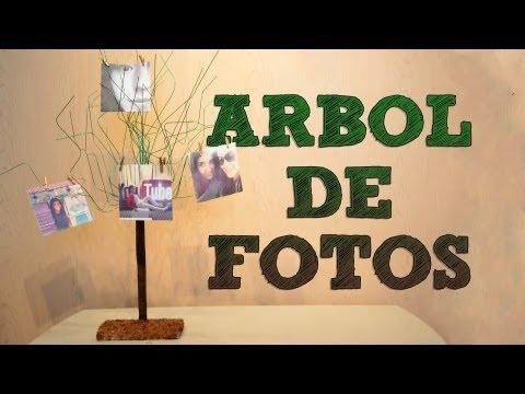 Vídeo de Cómo hacer un árbol de fotos