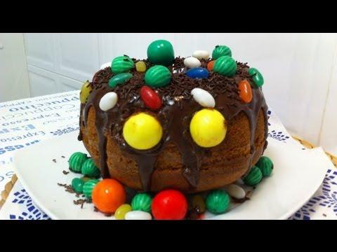 V deo de c mo hacer un pastel de calabaza para halloween - Como hacer calabazas de halloween ...