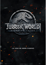 Cartel Jurassic World: El reino perdido