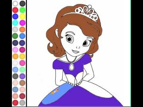 Vídeo de Vamos a pintar princesas